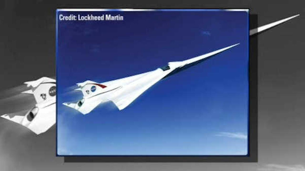 NASA unveils plans for supersonic plane rivaling speed of the Concorde