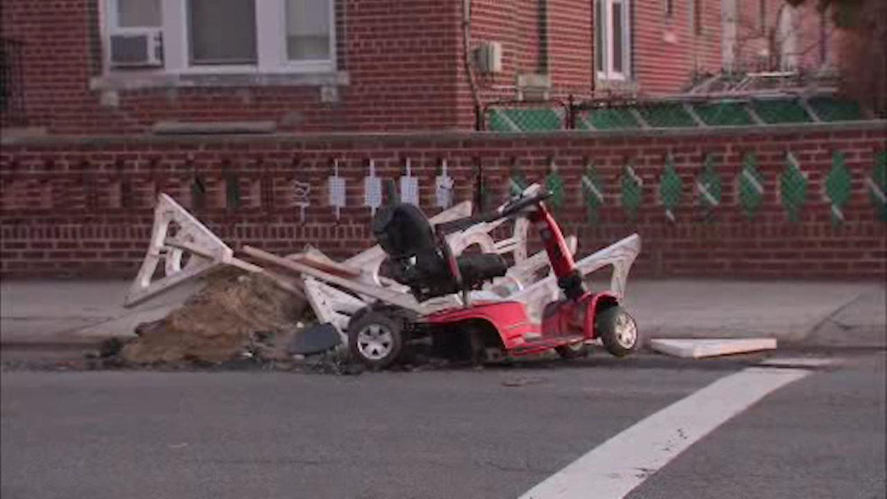70-year-old man riding scooter critically injured by hit-and-run driver in Brooklyn
