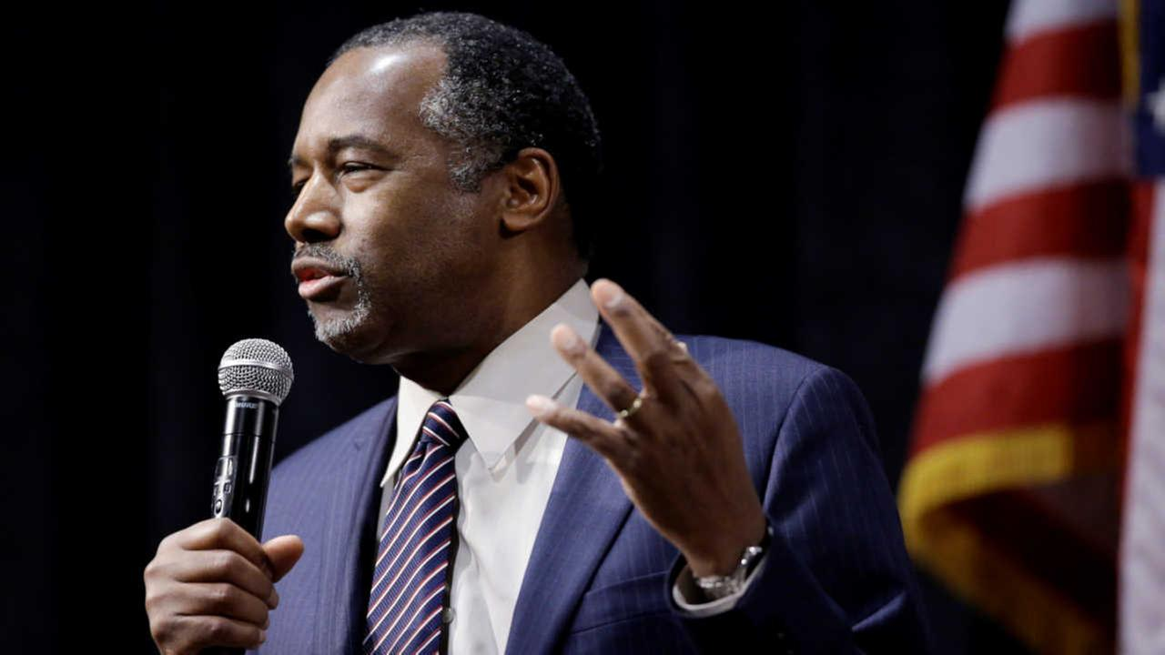 "Ben Carson announces he is ""leaving the campaign trail"""