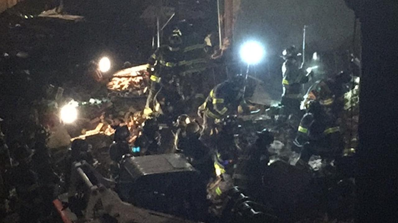 Partial collapse in Bedford-Stuyvesant unfounded - called in by emotionally disturbed person