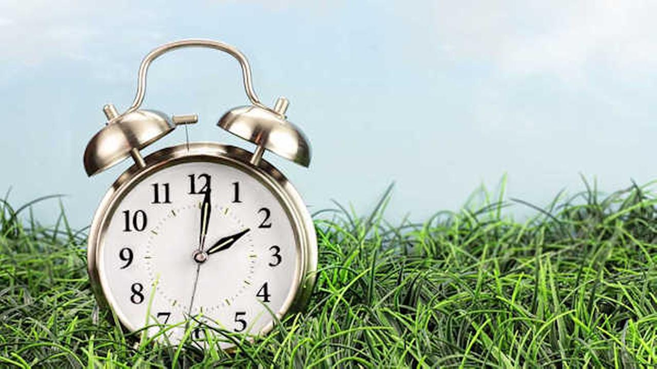 Did you remember to spring forward?  Daylight saving time is here