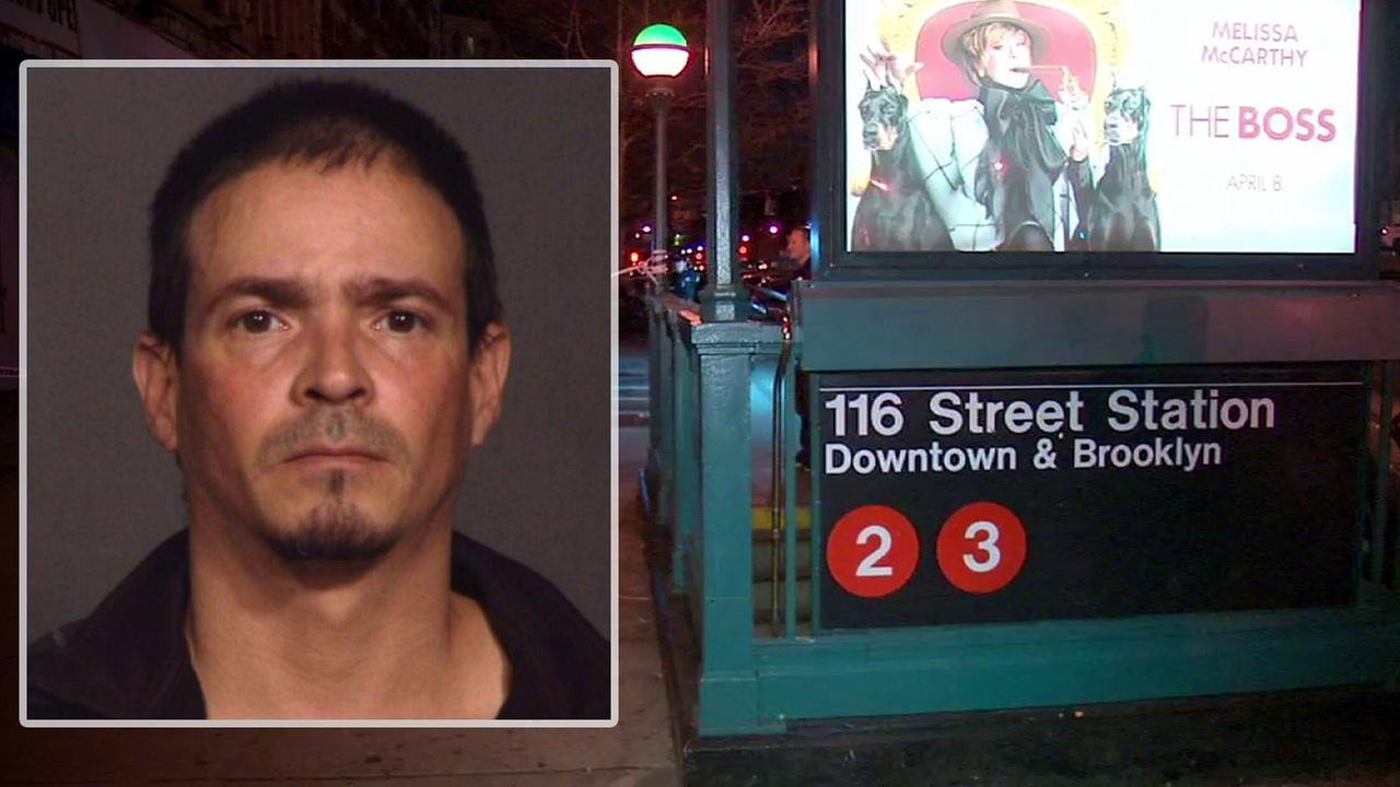 Suspect arrested in fatal subway stabbing in Harlem