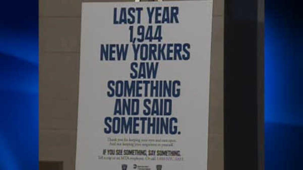 Could there be changes to MTA's 'If you see something, say something' slogan?