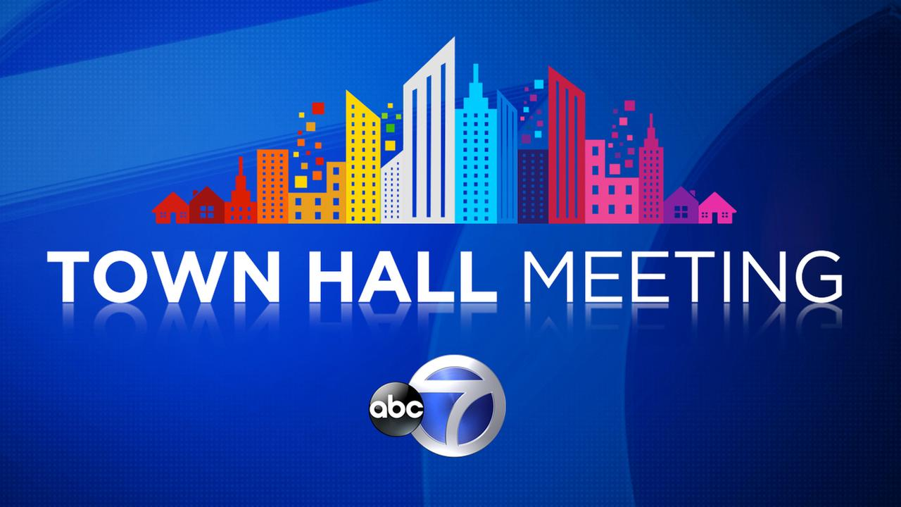 WABC-TV town hall meeting at Hofstra University