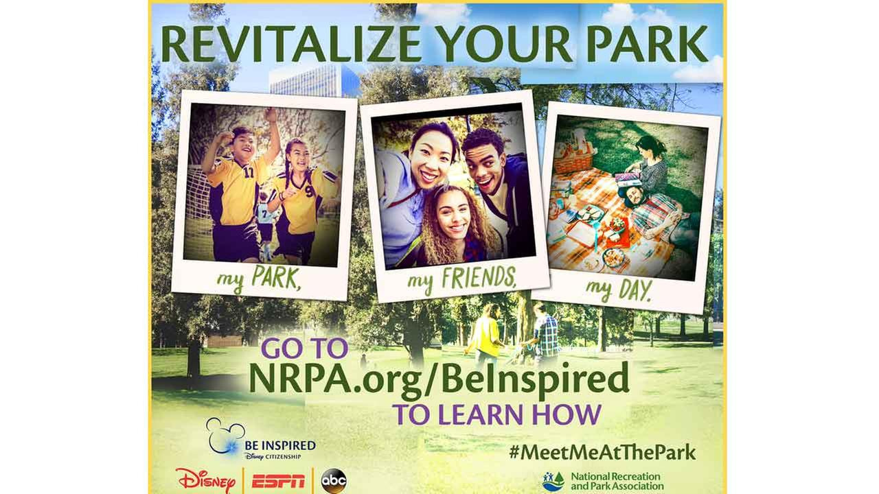 National Recreation, Park Association Collaborates with The Walt Disney Company to Improve Parks Nationwide