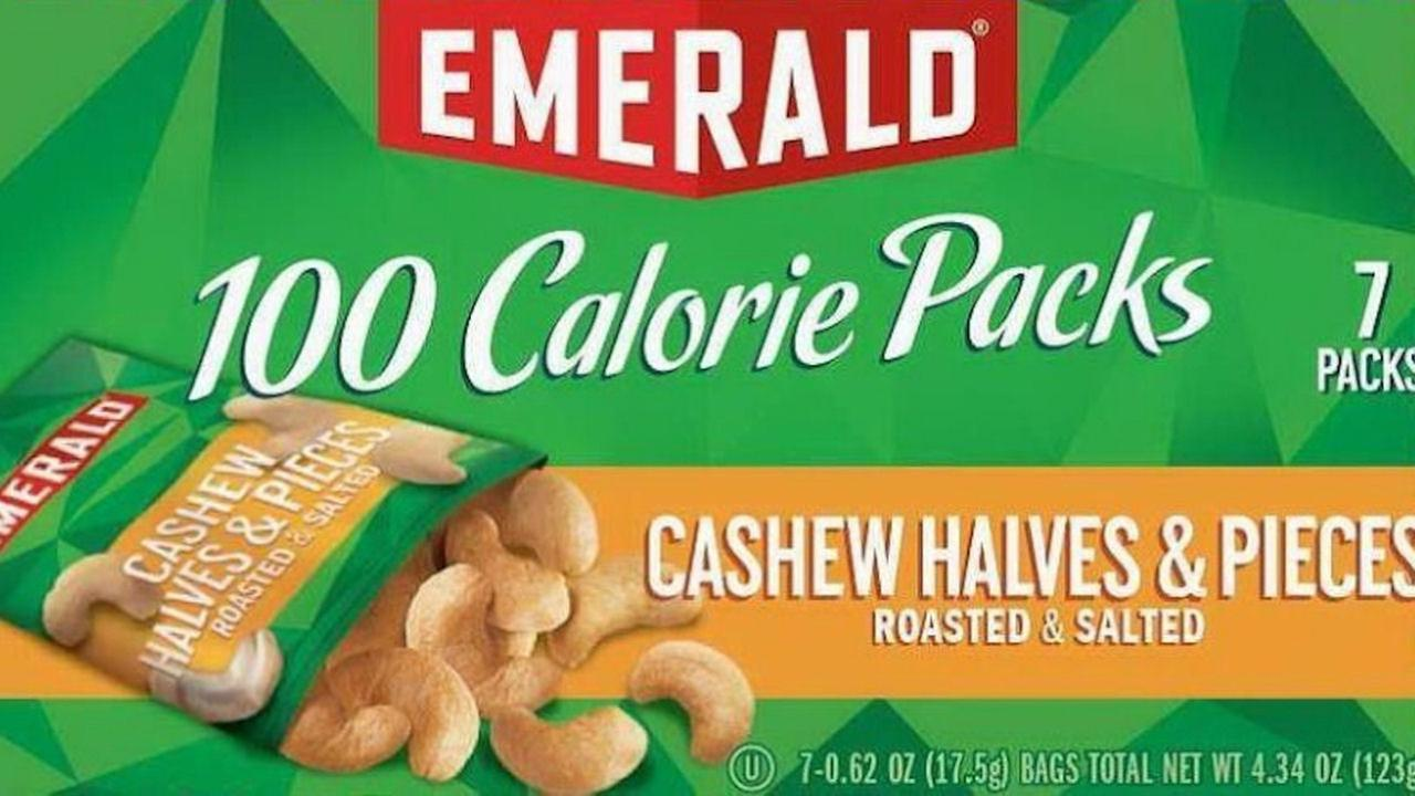 Voluntary recall for some 100 calorie packs of Emerald nuts