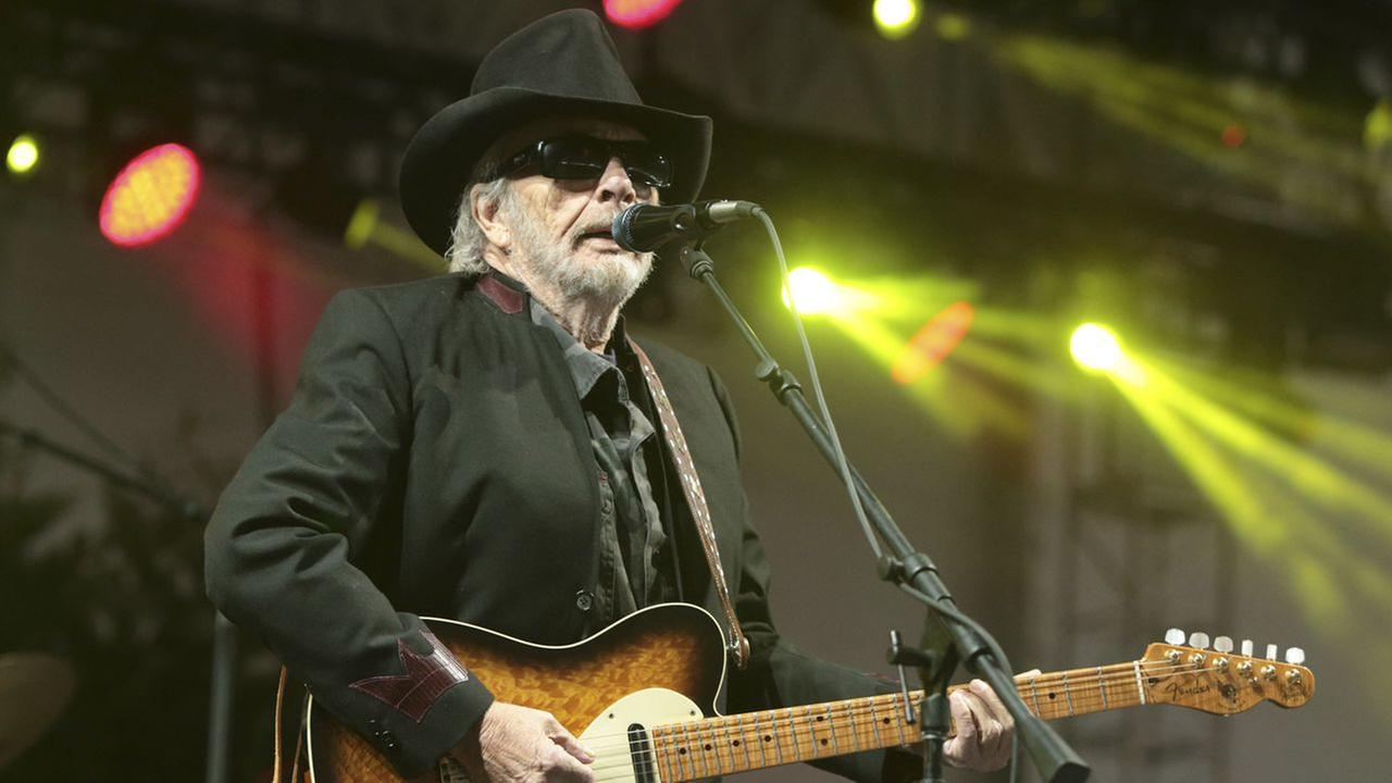 Singer-songwriter Merle Haggard performs on Day 3 of the 2015 Big Barrel Country Music Festival at The Woodlands on Sunday, June 28, 2015, in Dover, Del.