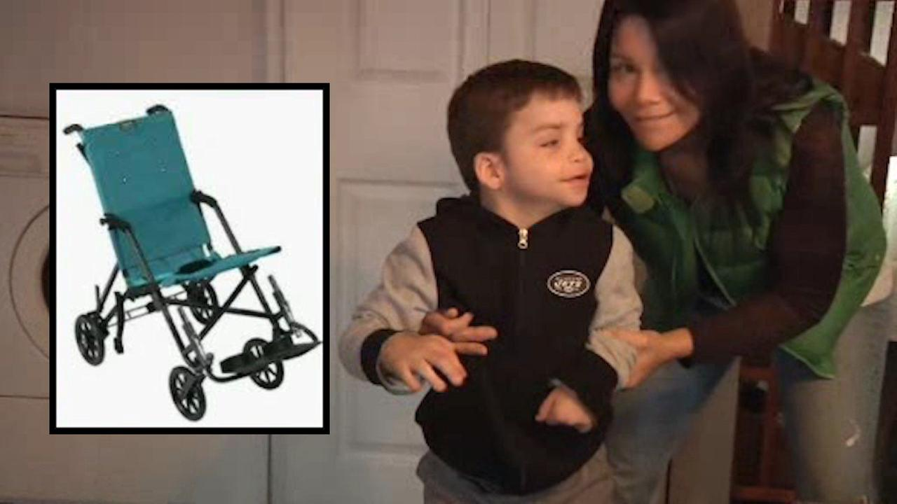 Wheelchair stolen from 10-year-old boy with cerebral palsy