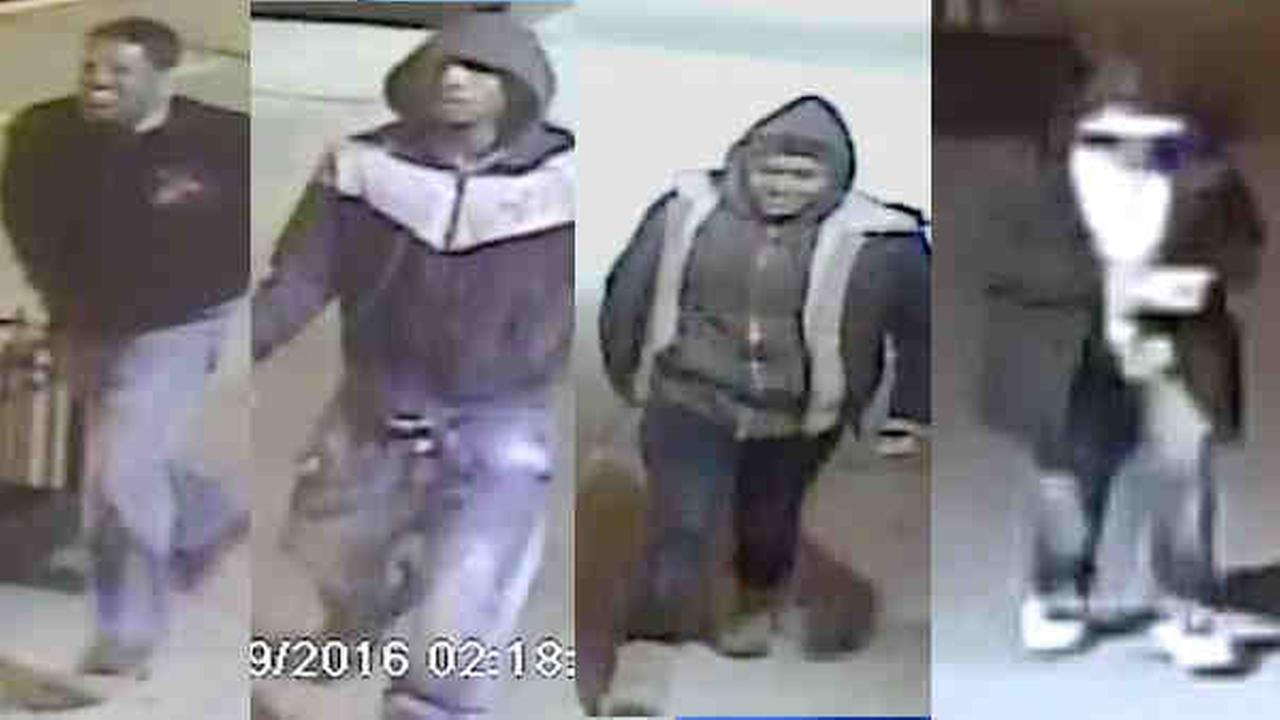 4 wanted in armed robberies on Upper West Side, in Washington Heights