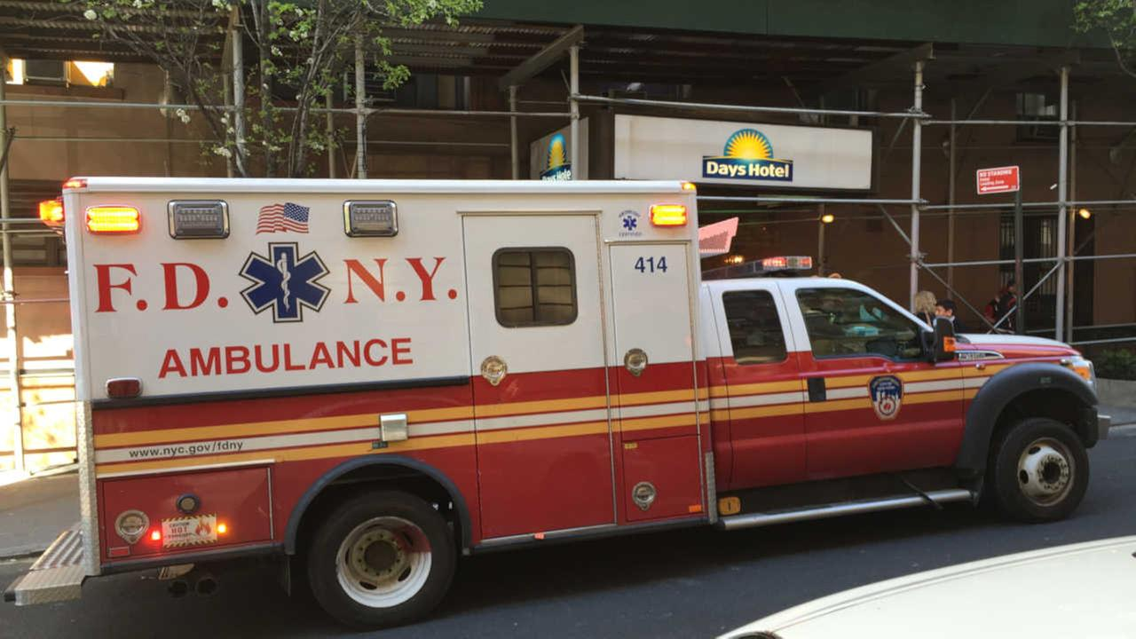 Man critically injured after falling out window of Upper West Side hotel