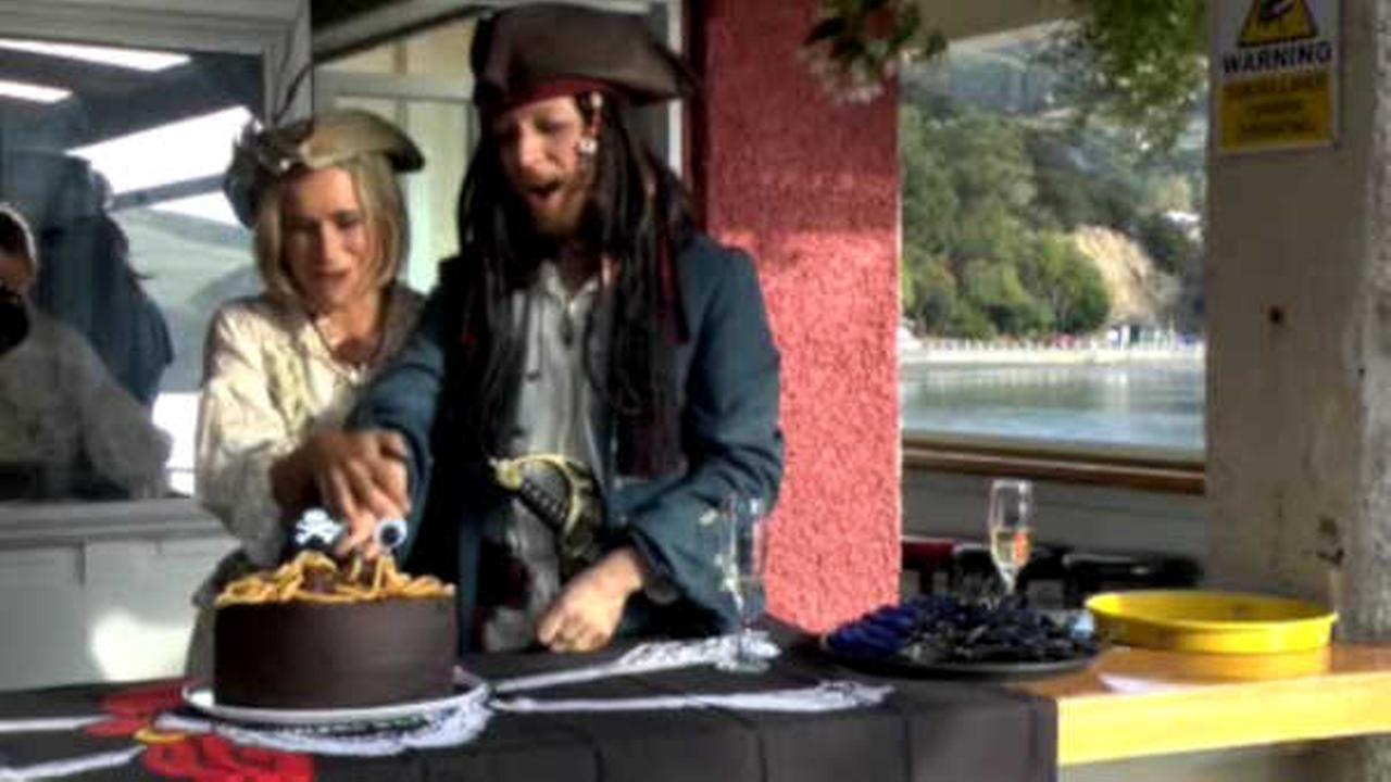New Zealand hosts world's first-ever Pastafarian wedding on pirate boat