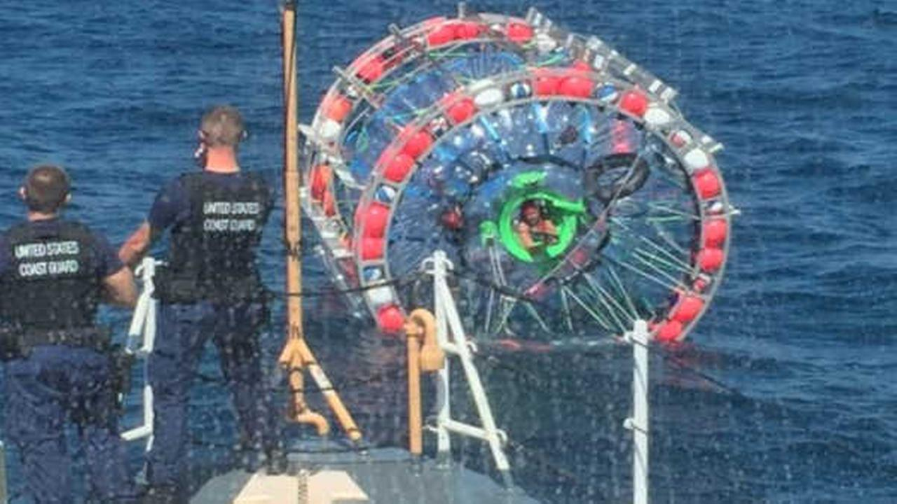 "Bubble burst: Florida man traveling to Bermuda in ""hydropod"" rescued at sea"