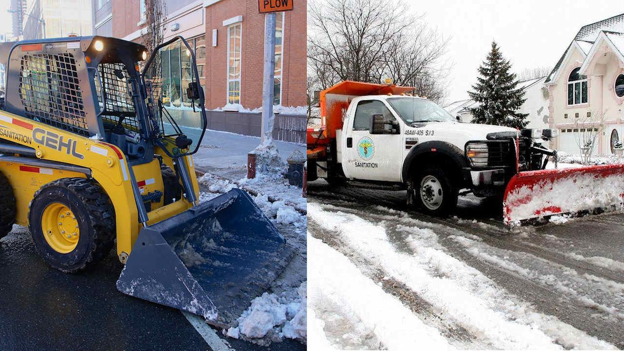 Sanitation Department to get funds for new snow removal equipment