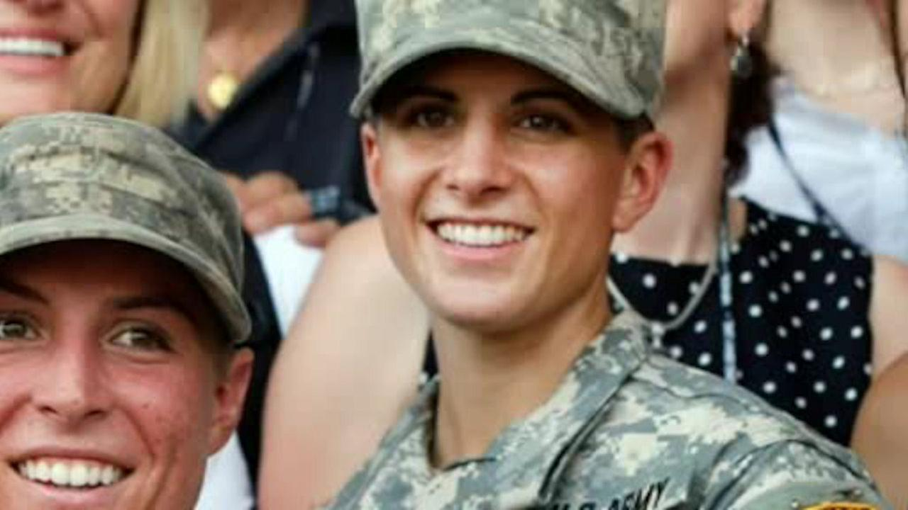 Woman makes history to become Army's first female infantry officer