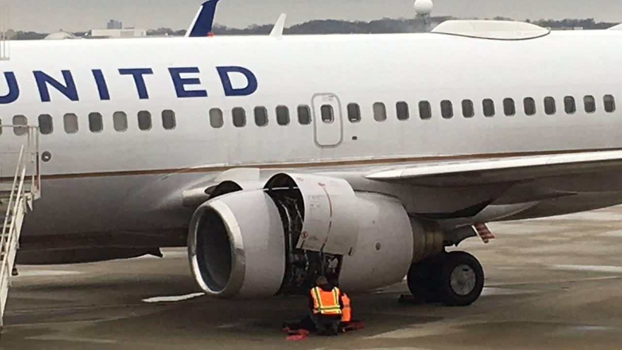 Flight out of Newark makes emergency landing in Cleveland after pilot reports engine issues