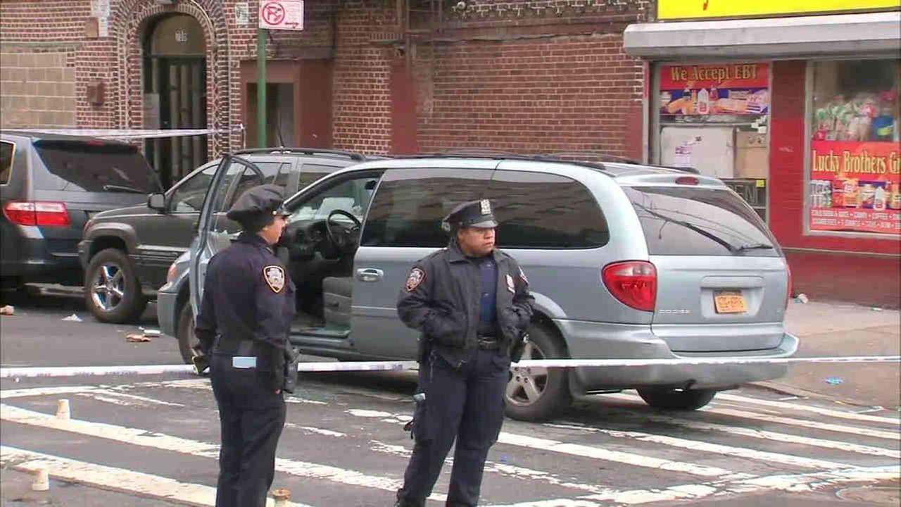 Man in Hunts Point shot while sitting in van