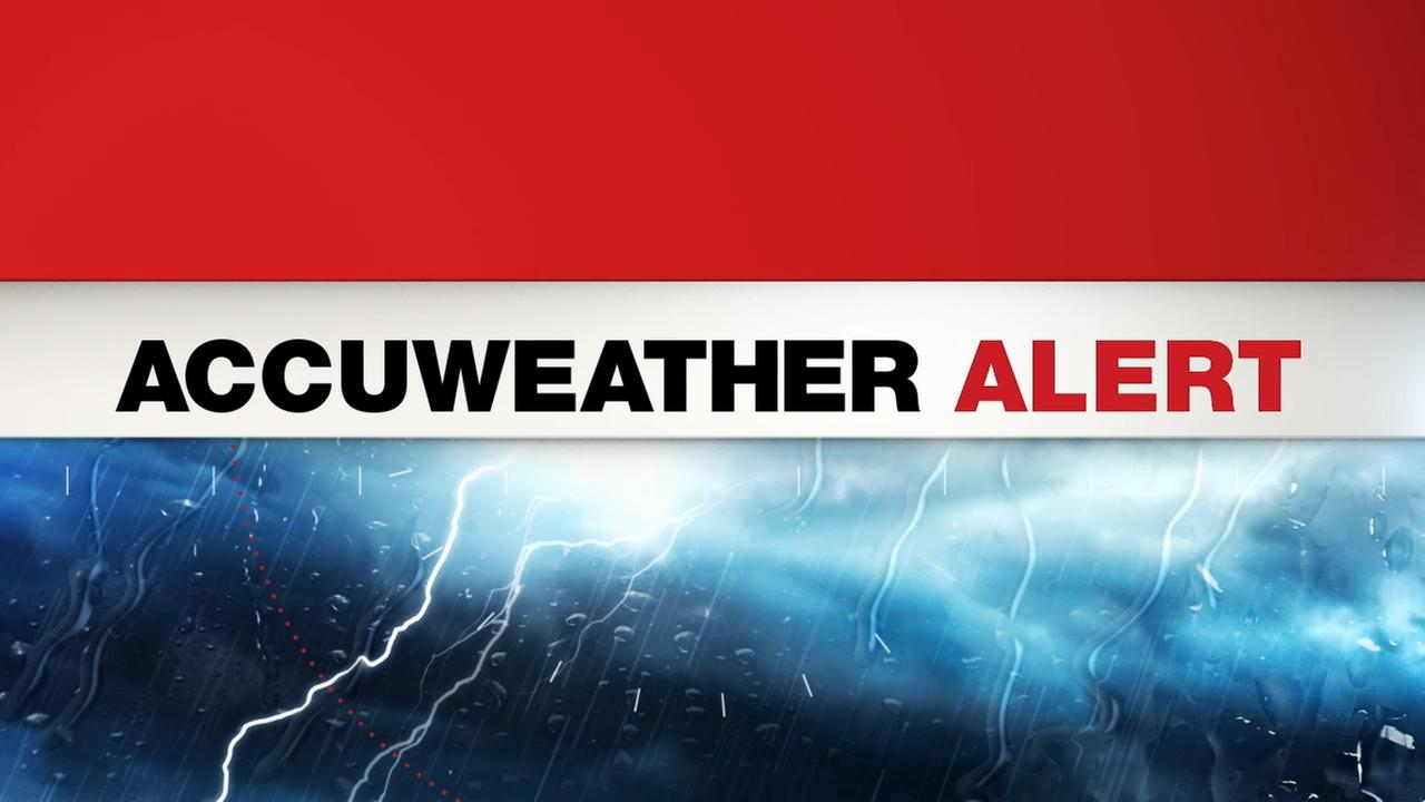 Accuweather Alert: Thunderstorms on the way