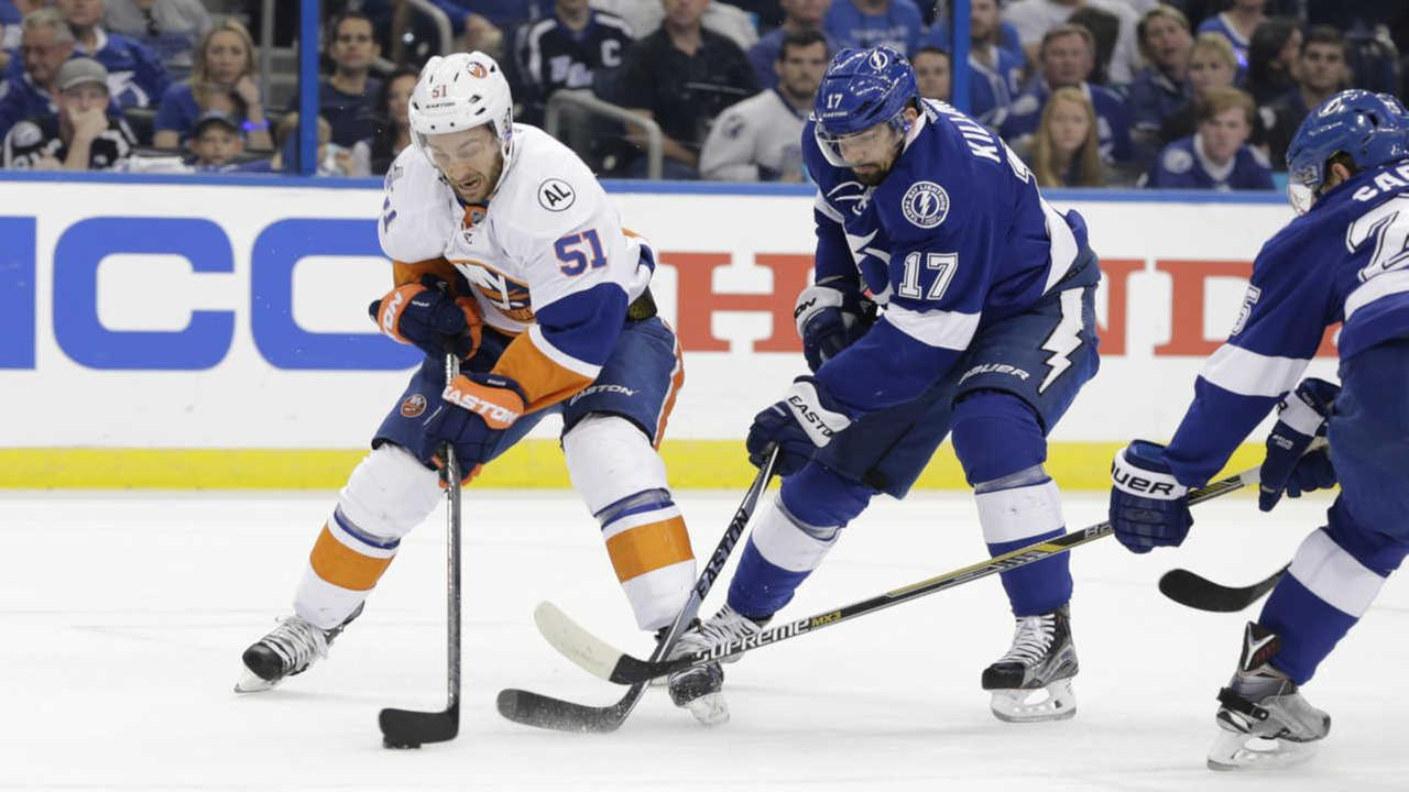 Islanders eliminated from Stanley Cup Playoffs after 4-0 loss to Lightning
