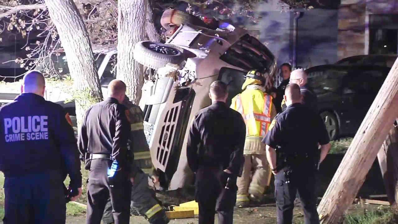 Man on Long Island faces DUI charges after losing control of car