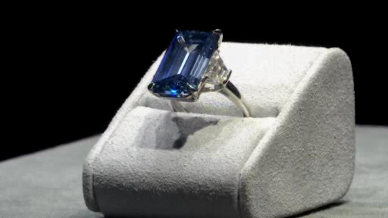 'Oppenheimer Blue' diamond sells for record $57.6 million