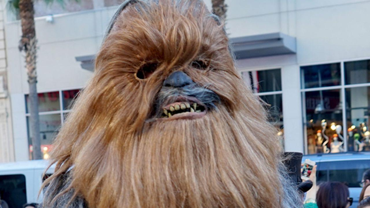 FUNNY: Woman's Chewbacca mask unveiling video is guaranteed to make you laugh