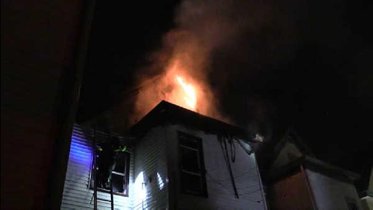 16 homeless after fire burns through home in Passaic, New Jersey
