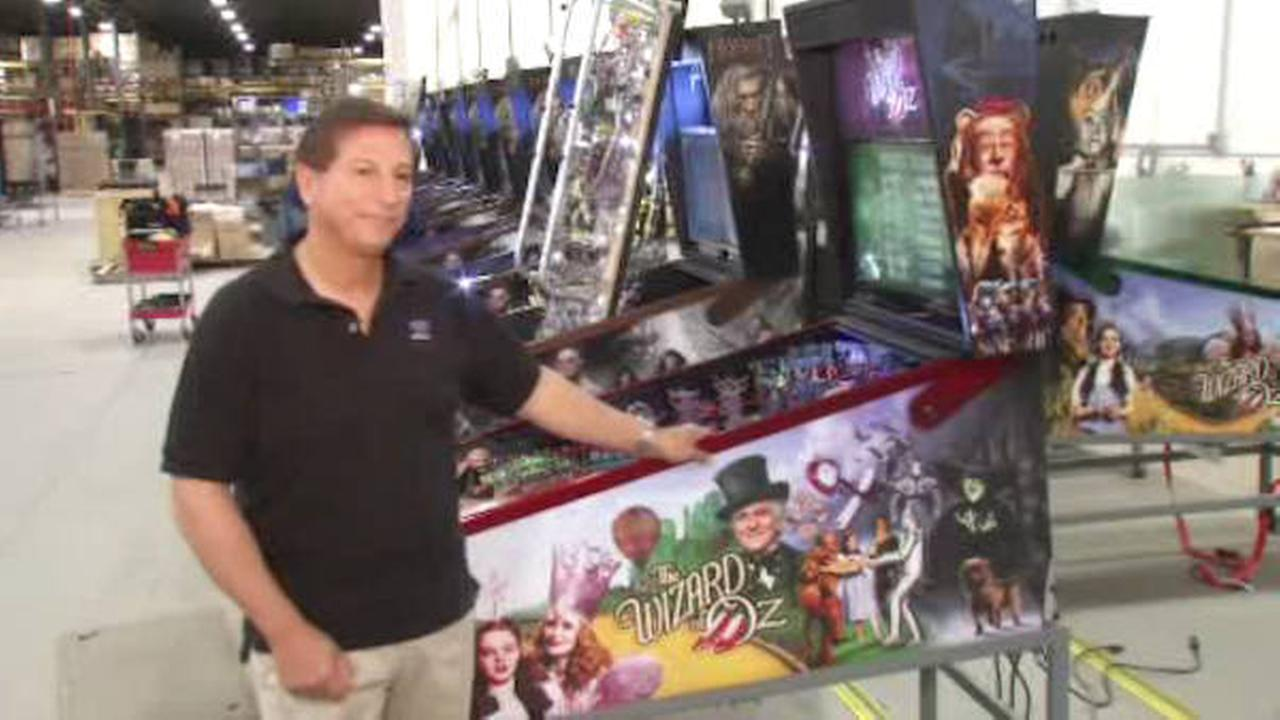Jersey Jack builds the pinball machines for the future