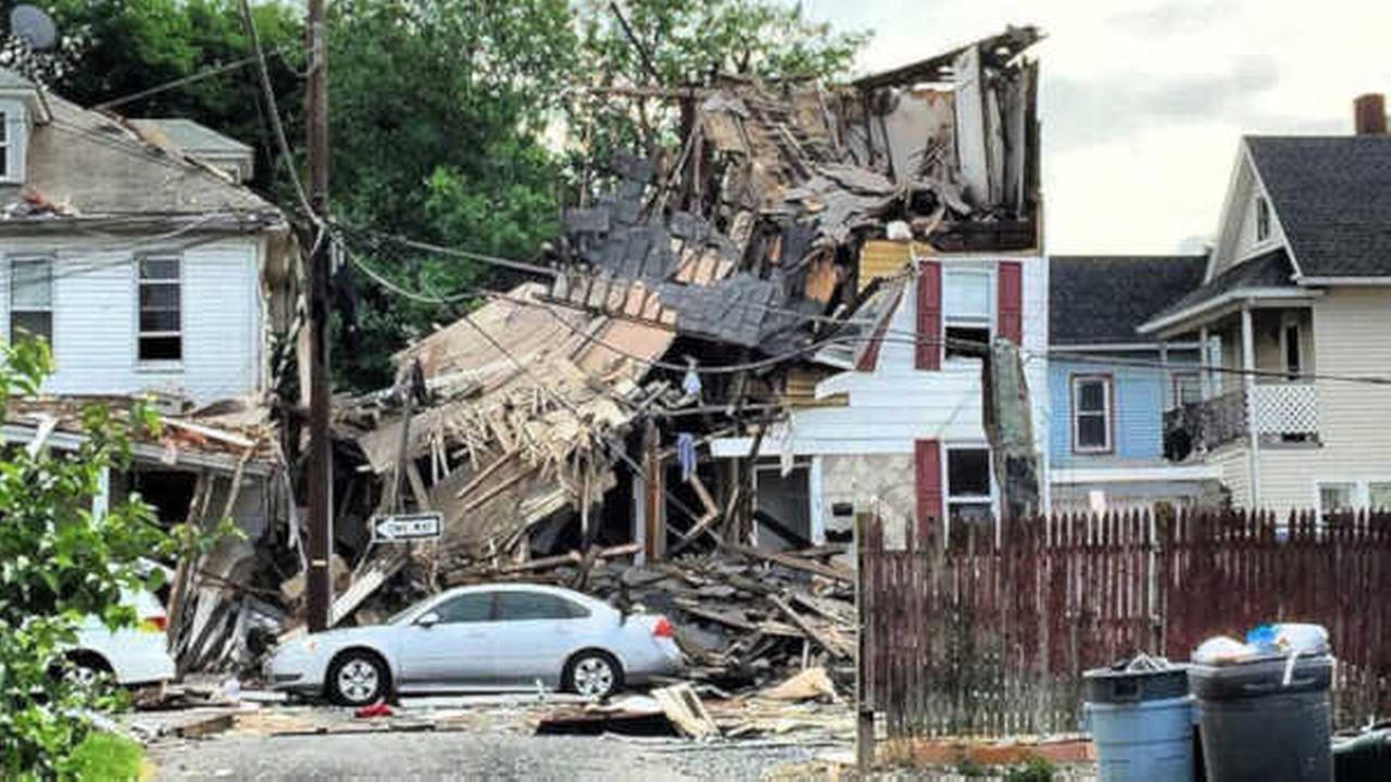 1 severely burned in Phillipsburg house explosion
