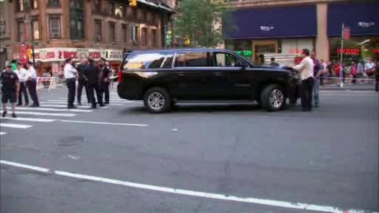Woman fatally struck by SUV in Midtown Manhattan