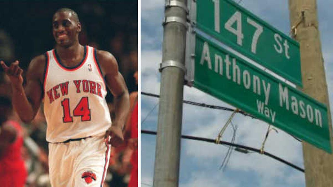 Section of Queens street co-named 'Anthony Mason Way' to honor former Knick
