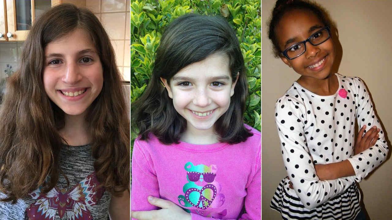 Danielle Mazlish (left), Gianna Malecki (center), and Kalaya Moody