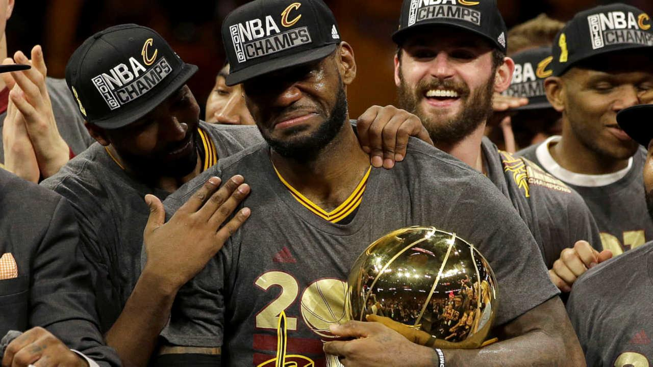 Cleveland Cavaliers stun Warriors to win first NBA title in team history