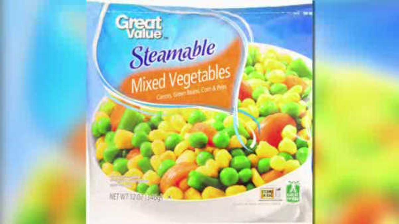Recall of frozen vegetables due to possible listeria contamination