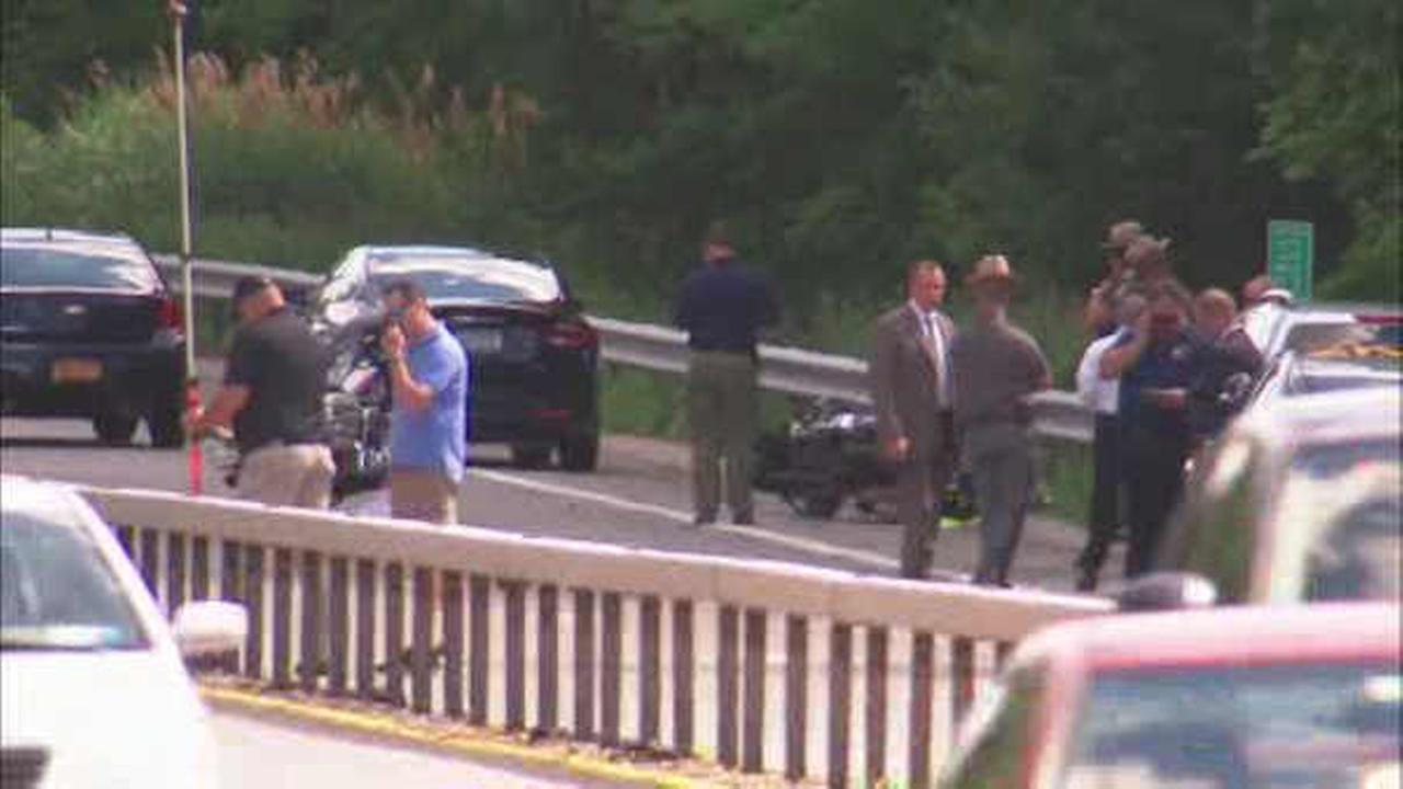 Crash involving police motorcycles shuts down stretch of Taconic State Parkway
