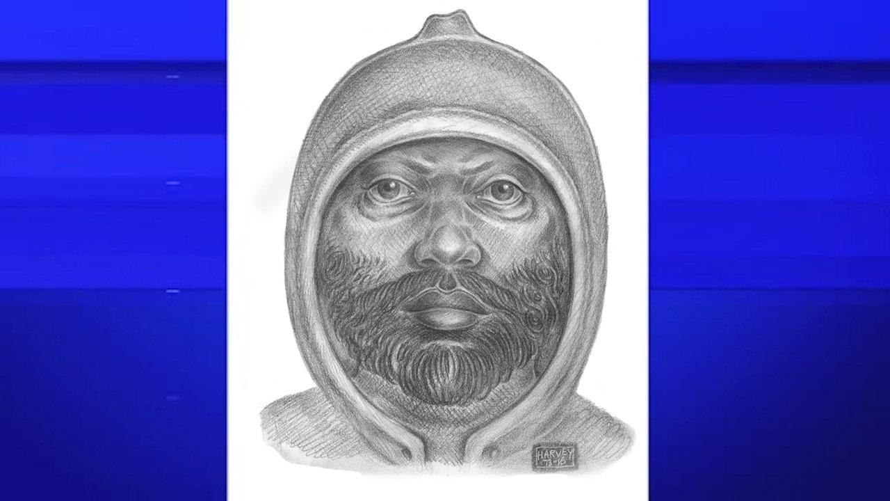 Sketch of suspect wanted in Washington Heights rape