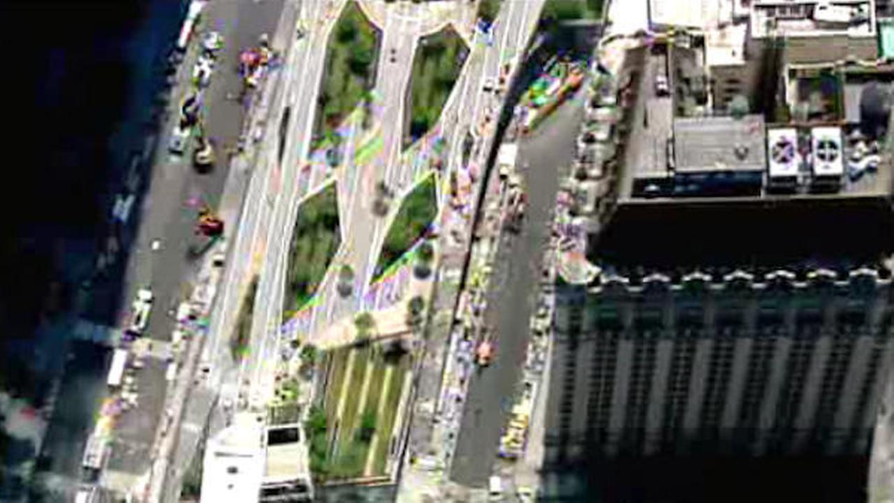 Sneak peak: World Trade Center's Liberty Park to open Wednesday