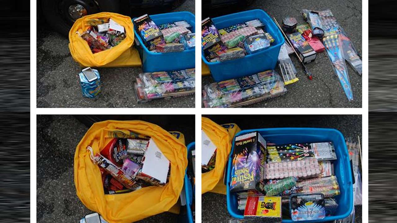 Newark man arrested for having thousands of illegal fireworks