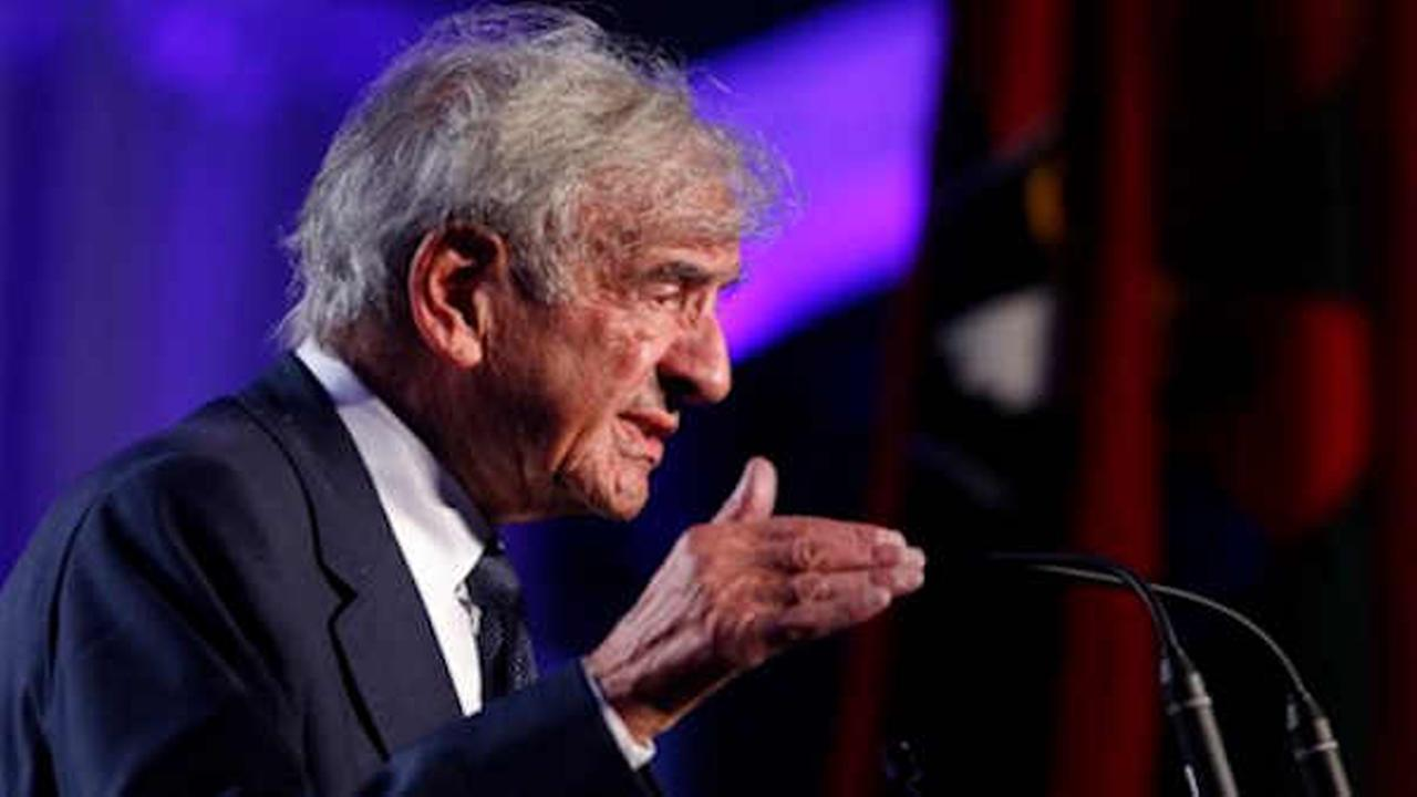 Nobel laureate Elie Wiesel remembered at private service in Manhattan