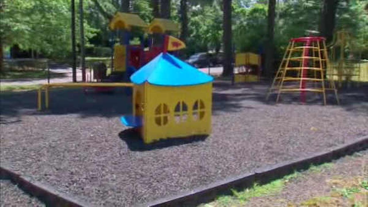 Rubber Mulch On Li Children S Playgrounds Raising Health Concerns Abc7ny Com