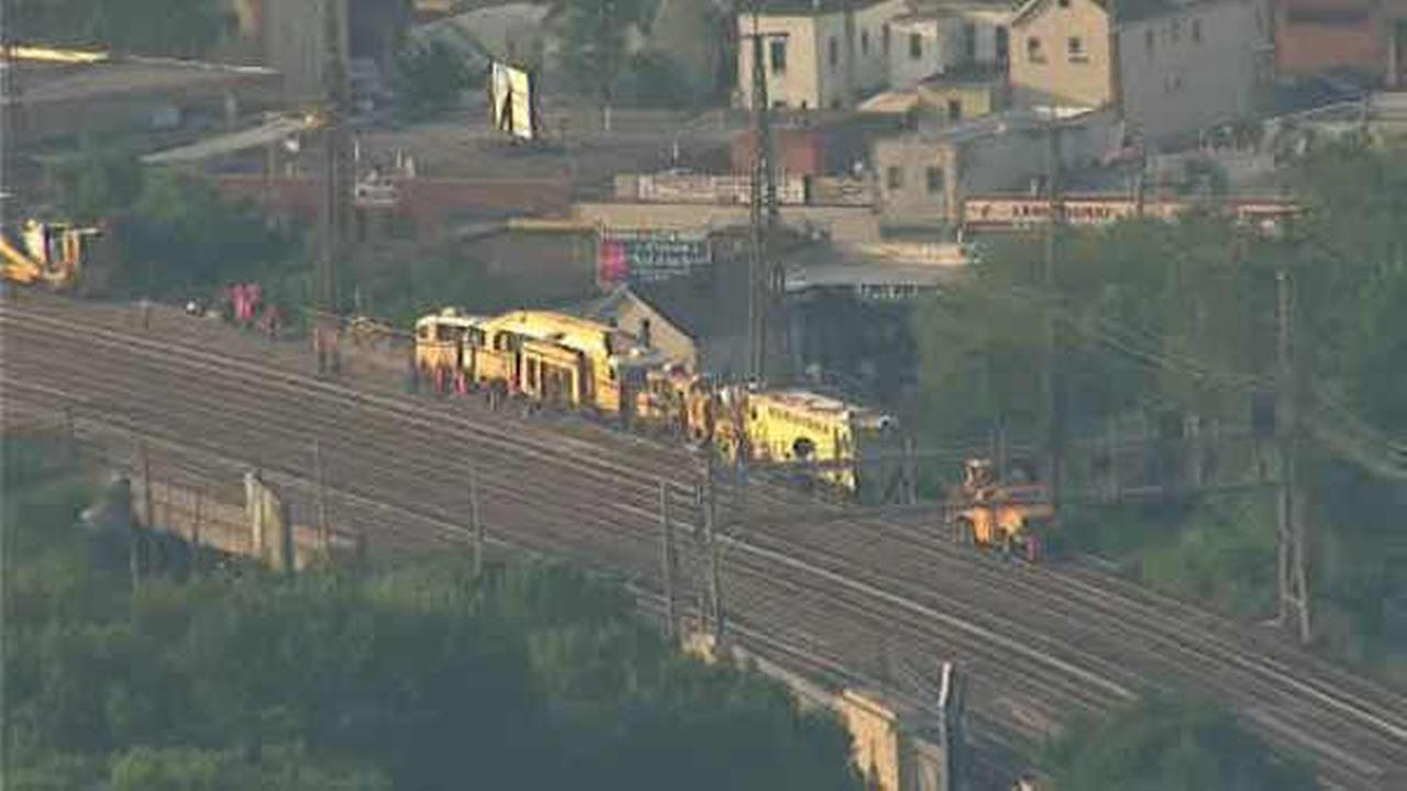 LIRR service disrupted by derailed car east of Woodside