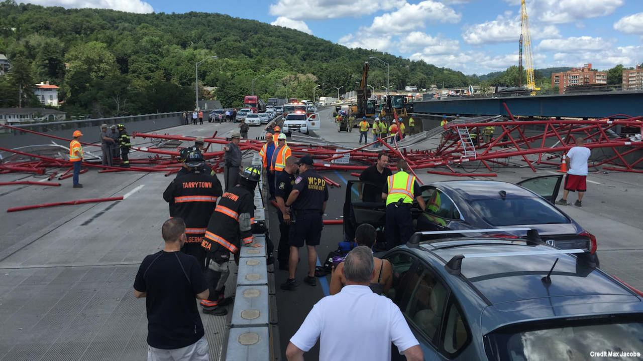 tappan zee bridge crane collapse