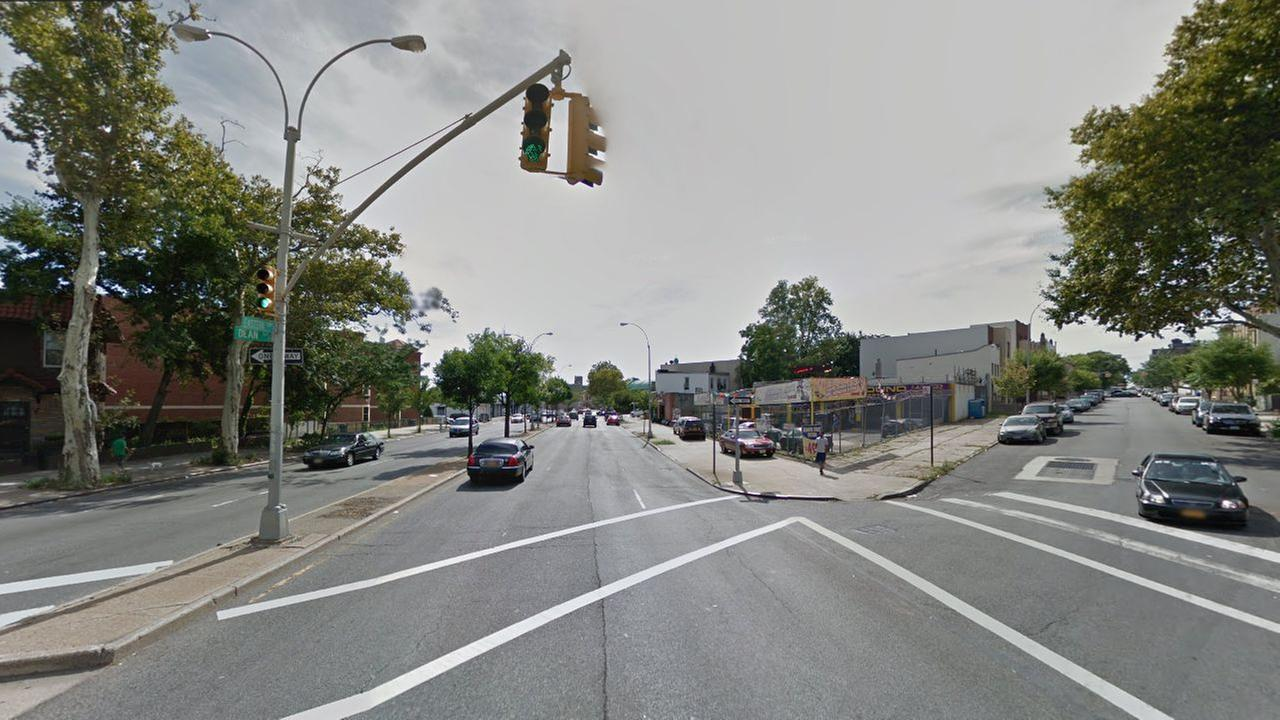 File photo of the intersection of Eastern Parkway and Dean Street in Crown Heights, Brooklyn.