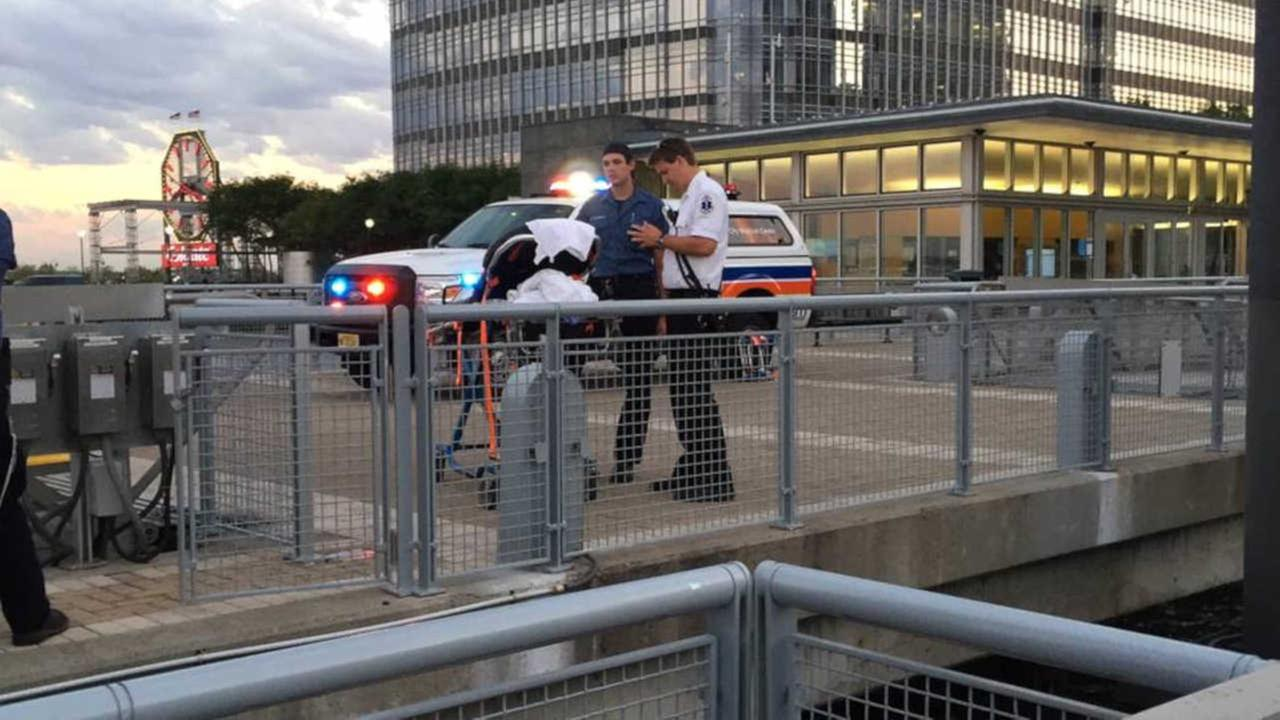 17 injured when ferry makes hard landing in Jersey City