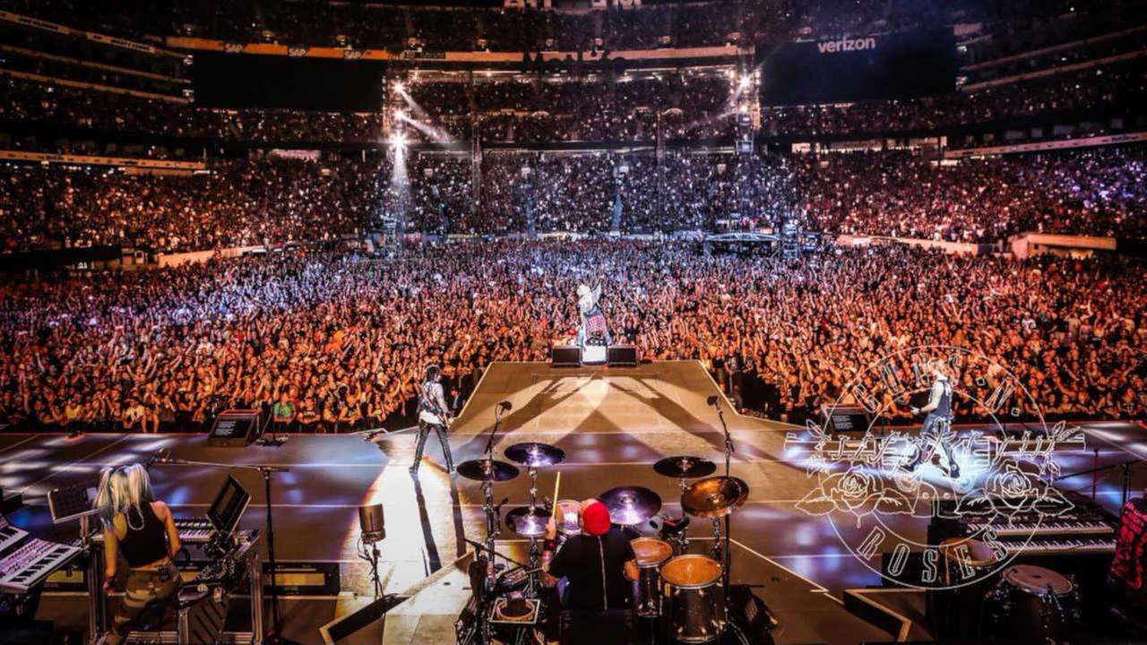 30 people arrested at Guns N' Roses concert at MetLife Stadium