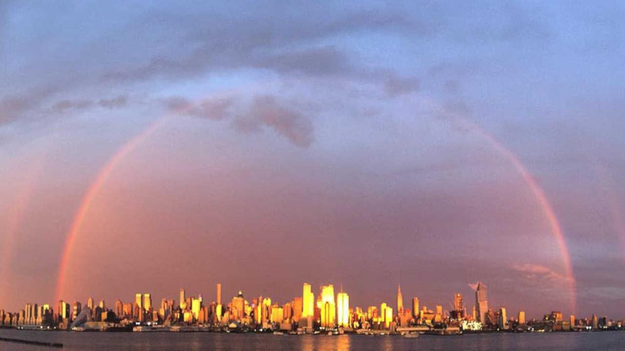 10 photos of Monday's rainbow you won't want to miss