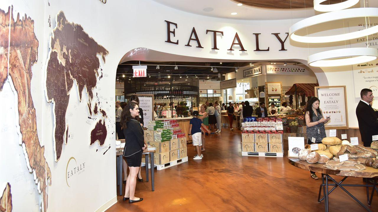 Atmosphere at the Eataly Downtown NY Ribbon Cutting on August 2, 2016 in New York City.