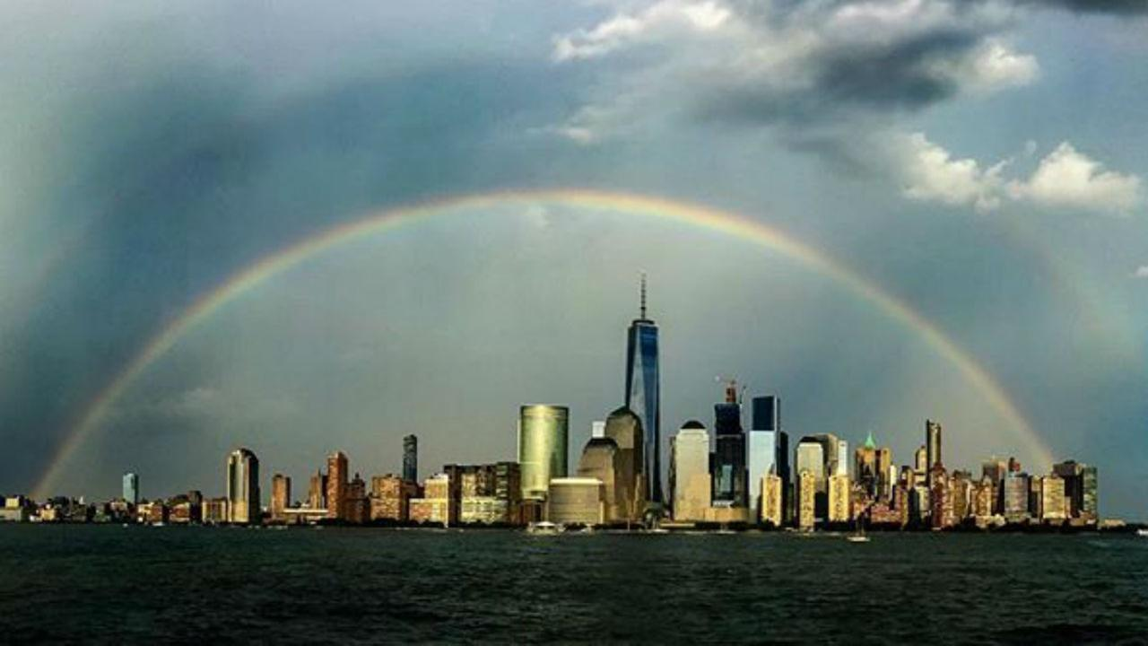 Rainbows after the storm: Seven must-see photos