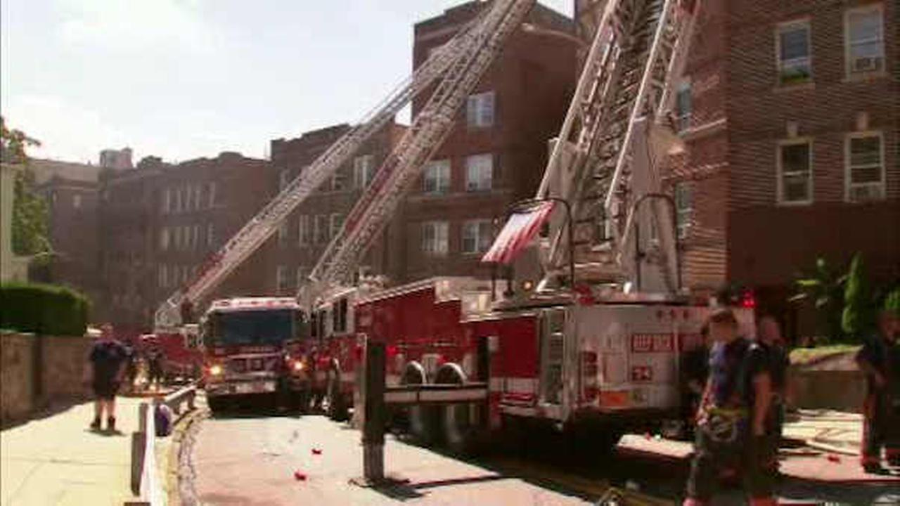 6 apartments burglarized following fire at building in Yonkers
