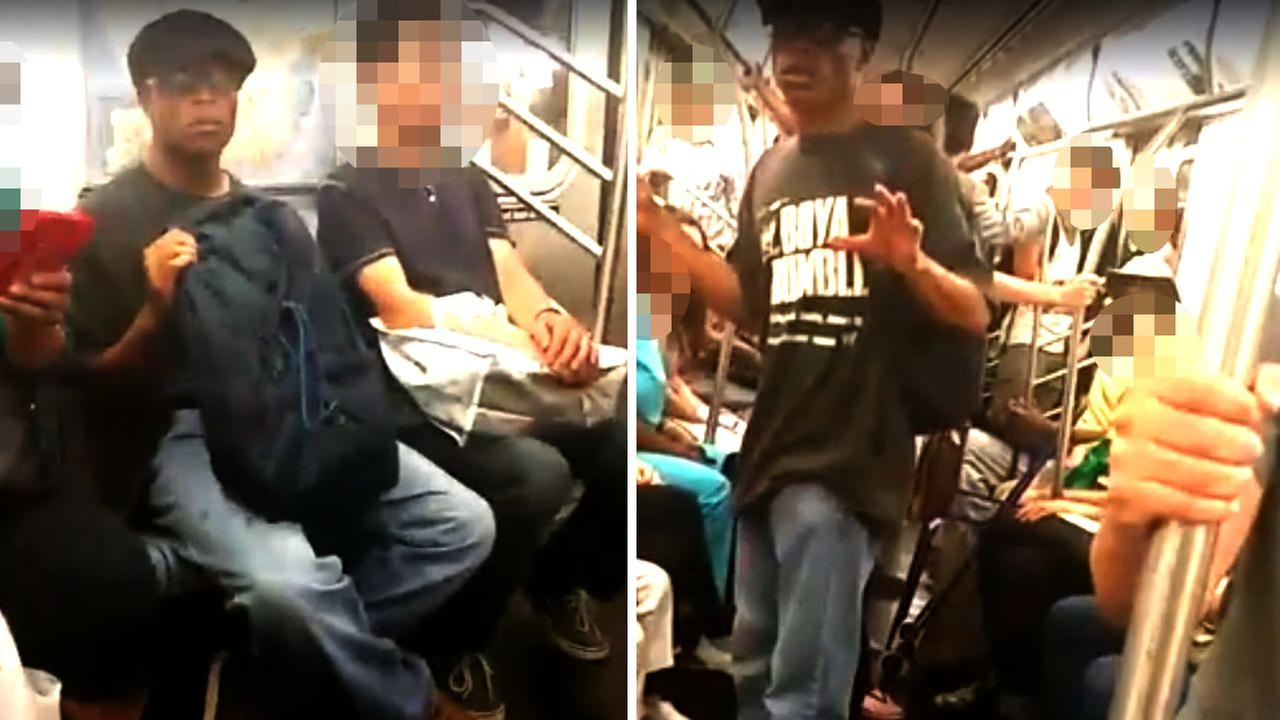 Alleged subway fondler shamed in viral video arrested
