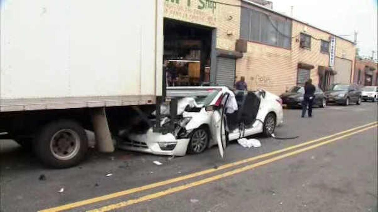 Man survives being struck by steel beam during freak accident in East New York